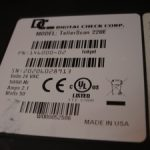 Digital Check TS220E TellerScan check scanner PN:146000-02